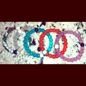 Set of 5 Lokai bracelets, Authentic size small